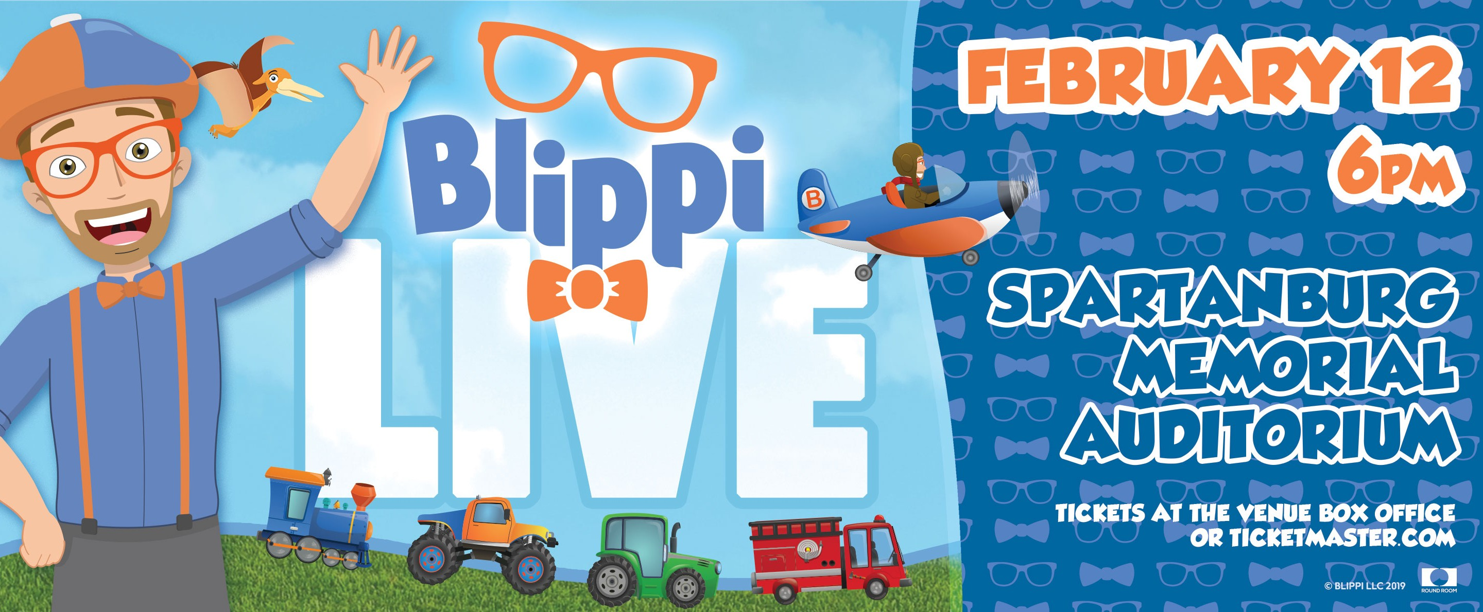 Blippi Live | Spartanburg Memorial Auditorium