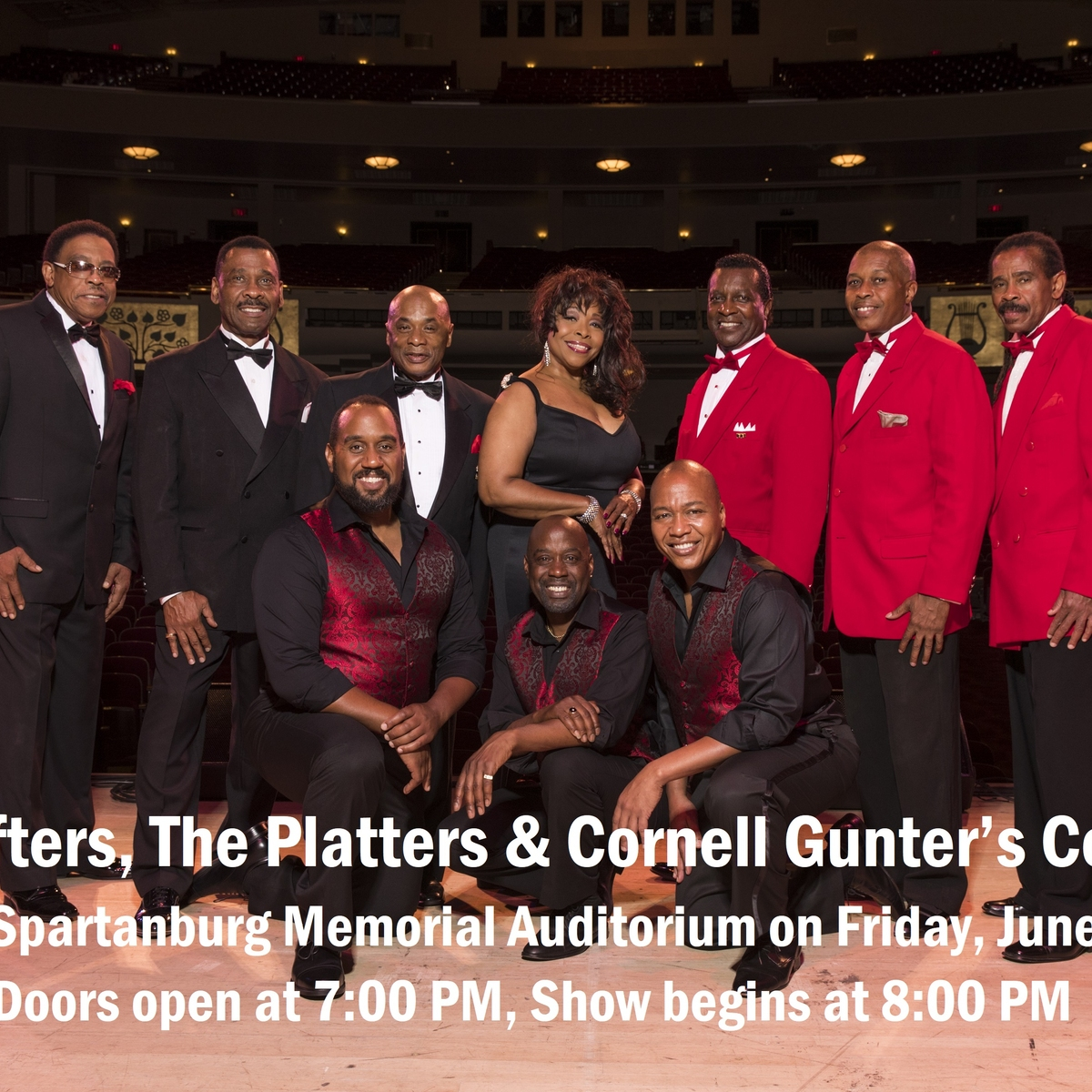 Rescheduled - The Drifters, The Platters & Cornell Gunter's Coasters - 6/11/2021