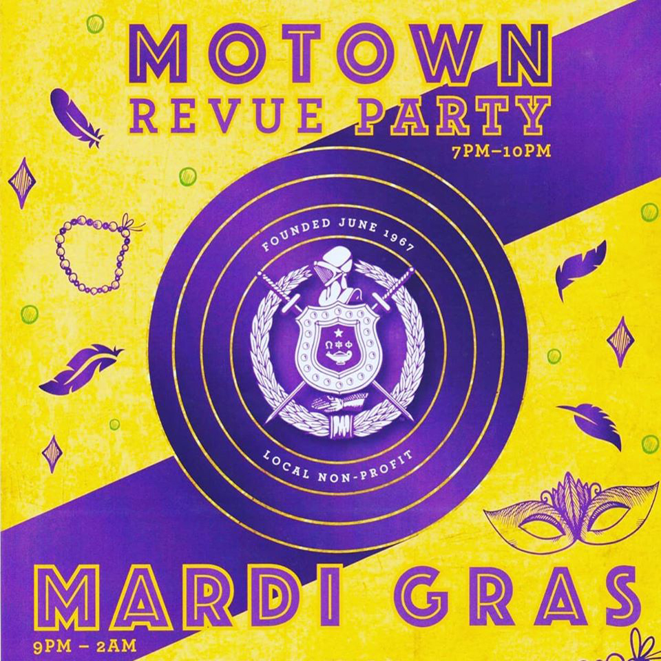 Mardi Gras Ball - RESCHEDULED from 3/20