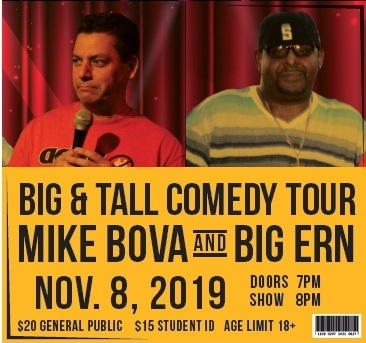 Big & Tall Comedy Tour at Second Stage @ SMA
