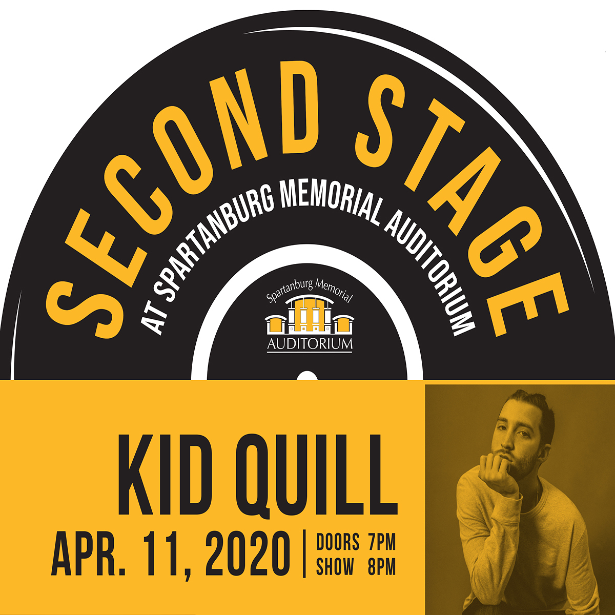 CANCELLED - Kid Quill from Second Stage @ SMA