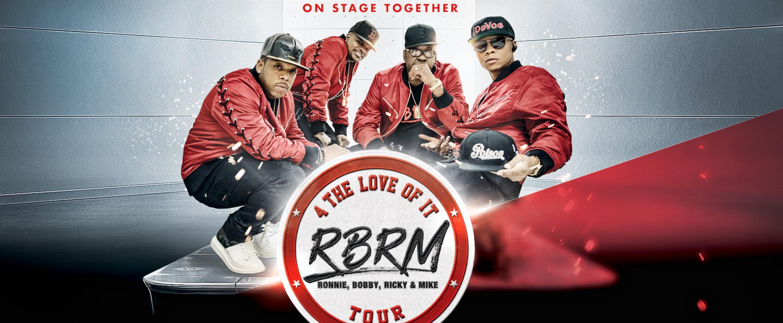 RBRM: Ronnie, Bobby, Ricky & Mike | Spartanburg Memorial Auditorium