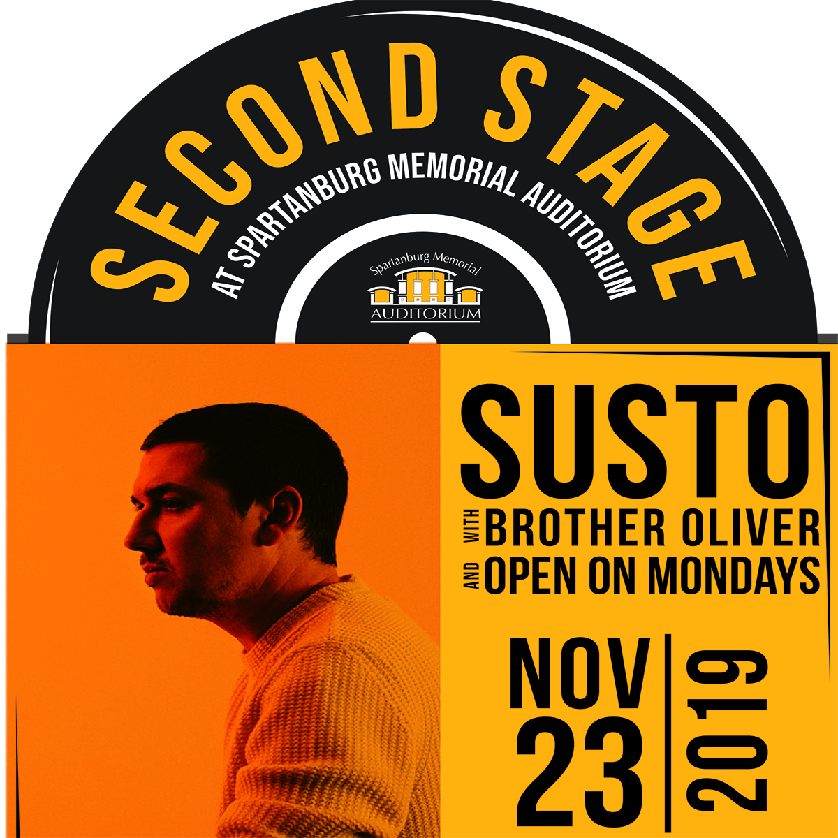 SUSTO Live at Second Stage @ SMA