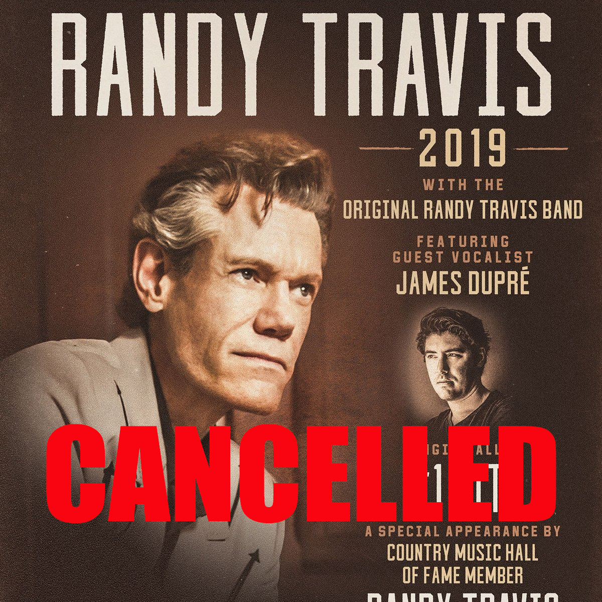 CANCELLED: The Music of Randy Travis
